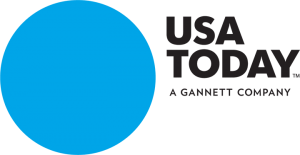 USA Today Logo - blue dot